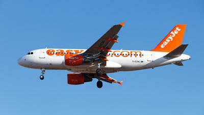G-EZNC - Airbus A319-111 - easyJet