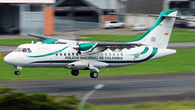 PNC-0242 - ATR 42-320 - Colombia - Police