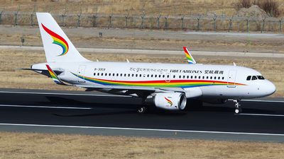 A picture of B30ER - Airbus A319115 - Tibet Airlines - © SEN BAI