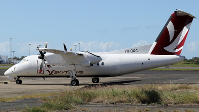 A picture of VHQQC - De Havilland Canada Dash 8100 - Skytrans - © JulietWhiskey