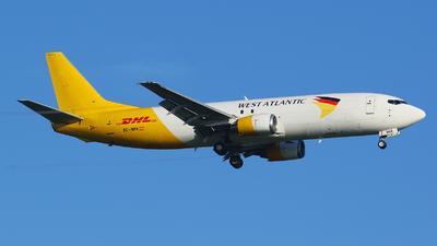 A picture of ECNMK - Boeing 737406(SF) - DHL - © francesco della santa
