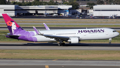 N580HA - Boeing 767-33A(ER) - Hawaiian Airlines