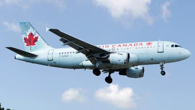 C-GAQZ - Airbus A319-114 - Air Canada
