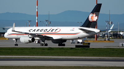 A picture of CFGKJ - Boeing 757223(PCF) - Cargojet Airways - © Stian Haabeth