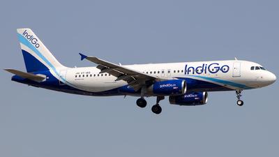 VT-IKD - Airbus A320-232 - IndiGo Airlines