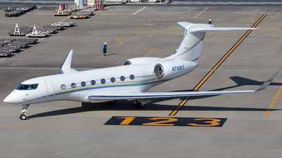 N712KT - Gulfstream G650 - Private