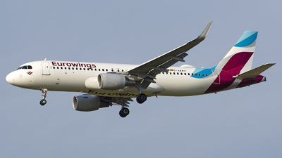 A picture of DAEWV - Airbus A320214 - Eurowings - © András Soós