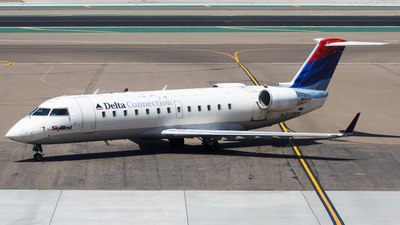 N454SW - Bombardier CRJ-200ER - Delta Connection (SkyWest Airlines)