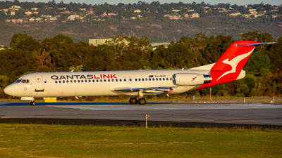 VH-NHQ - Fokker 100 - QantasLink (Network Aviation)