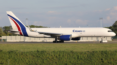 A picture of ECNHF - Boeing 757223(PCF) - Cygnus Air - © AviaStar Photography