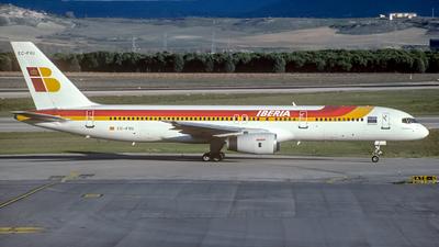 EC-FXU - Boeing 757-256 - Iberia