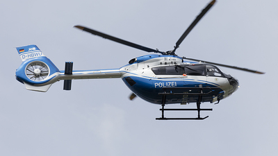 D-HBWU - Airbus Helicopters EC145 T2 - Germany - Police