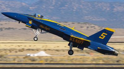 163741 - McDonnell Douglas F/A-18C Hornet - United States - US Navy (USN)