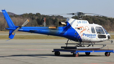 LN-OSX - Aérospatiale AS 350B3 Ecureuil - Pegasus Air Services
