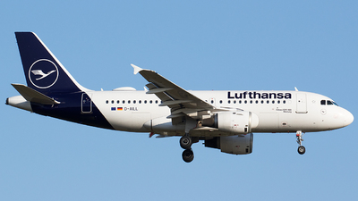 A picture of DAILL - Airbus A319114 - Lufthansa - © BennyH