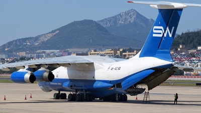 4K-AZ60 - Ilyushin IL-76TD - Silk Way Airlines