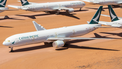 A picture of BHNG - Boeing 777367 - Cathay Pacific - © TommyNG
