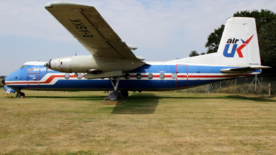 G-ASKK - Handley Page Dart Herald 211 - Air UK