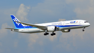 JA884A - Boeing 787-9 Dreamliner - All Nippon Airways (ANA)