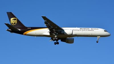 A picture of N417UP - Boeing 75724APF - UPS Airlines - © Jay Selman - airlinersgallery.com