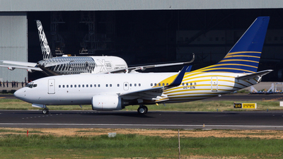 A6-AIN - Boeing 737-7Z5(BBJ) - Private