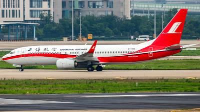 B-1453 - Boeing 737-89P - Shanghai Airlines