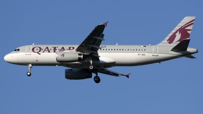 A7-AHL - Airbus A320-232 - Qatar Airways