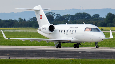 T-752 - Bombardier C-143A Challenger 604 - Switzerland - Air Force