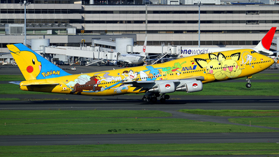 JA8957 - Boeing 747-481D - All Nippon Airways (ANA)