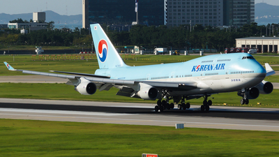 A picture of HL7495 - Boeing 7474B5 - [28096] - © Ricon Ahn