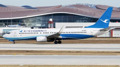 A picture of B5657 - Boeing 73785C - Xiamen Air - © Dream_flight