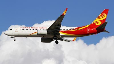 A picture of B5428 - Boeing 73786N - Hainan Airlines - © wangpaul