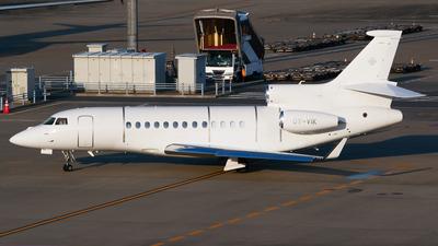 OY-VIK - Dassault Falcon 7X - Air Alsie