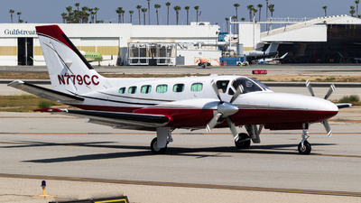 A picture of N779CC - Cessna 441 Conquest - [4410155] - © Alex Crail