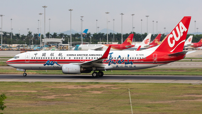 A picture of B7370 - Boeing 73789P - China United Airlines - © Jack  Li