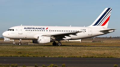 F-GRXM - Airbus A319-112 - Air France
