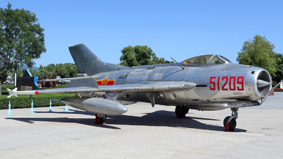 51209 - Shenyang J-6 - China - Air Force