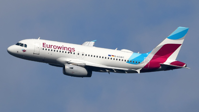 D-AGWT - Airbus A319-132 - Eurowings