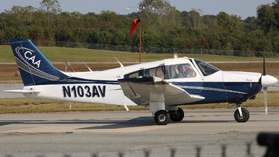 N103AV - Piper PA-28-181 Archer II - Centennial Aviation Academy