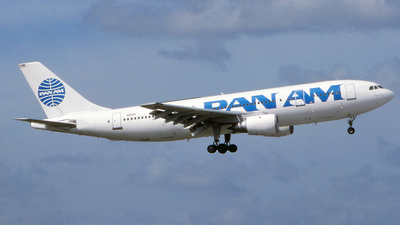 N861PA - Airbus A300B4-203 - Pan Am