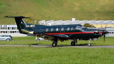 3A-MIG - Pilatus PC-12 NGX - Private
