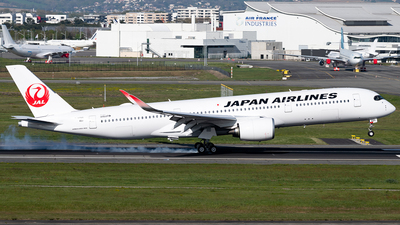 F-WZNO - Airbus A350-941 - Japan Airlines (JAL)