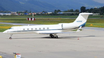 N855G - Gulfstream G550 - Private