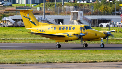 A picture of GSASD - Beech B200C Super King Air - Gama Aviation (UK) - © Ethan Hew - p_nilly
