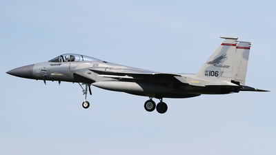85-0106 - McDonnell Douglas F-15C Eagle - United States - US Air Force (USAF)
