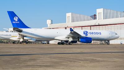 EI-GTT - Airbus A330-343P2F - Geodis Air Network (Titan Airways)