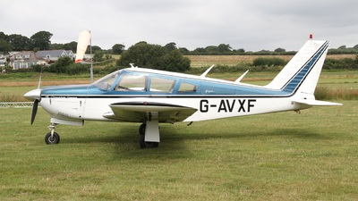 G-AVXF - Piper PA-28R-180 Cherokee Arrow - Private