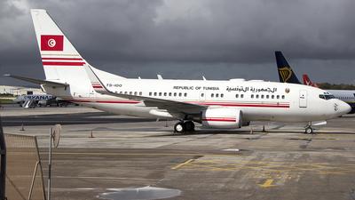TS-IOO - Boeing 737-7H3(BBJ) - Tunisia - Government