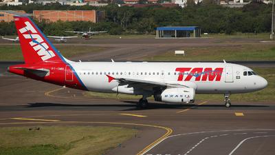 PT-TMH - Airbus A319-132 - TAM Linhas Aéreas