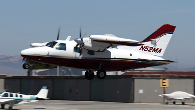 N52MA - Mitsubishi MU-2B-40 - Private